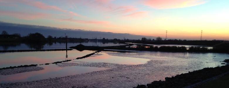 Uitzicht over de Hollandsche IJssel Wandelroute Natuur  Hitland - Viteau Voel Je Goed