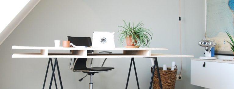 5 redenen voor echte planten op kantoor -bureau - Viteau Voel Je Goed - header