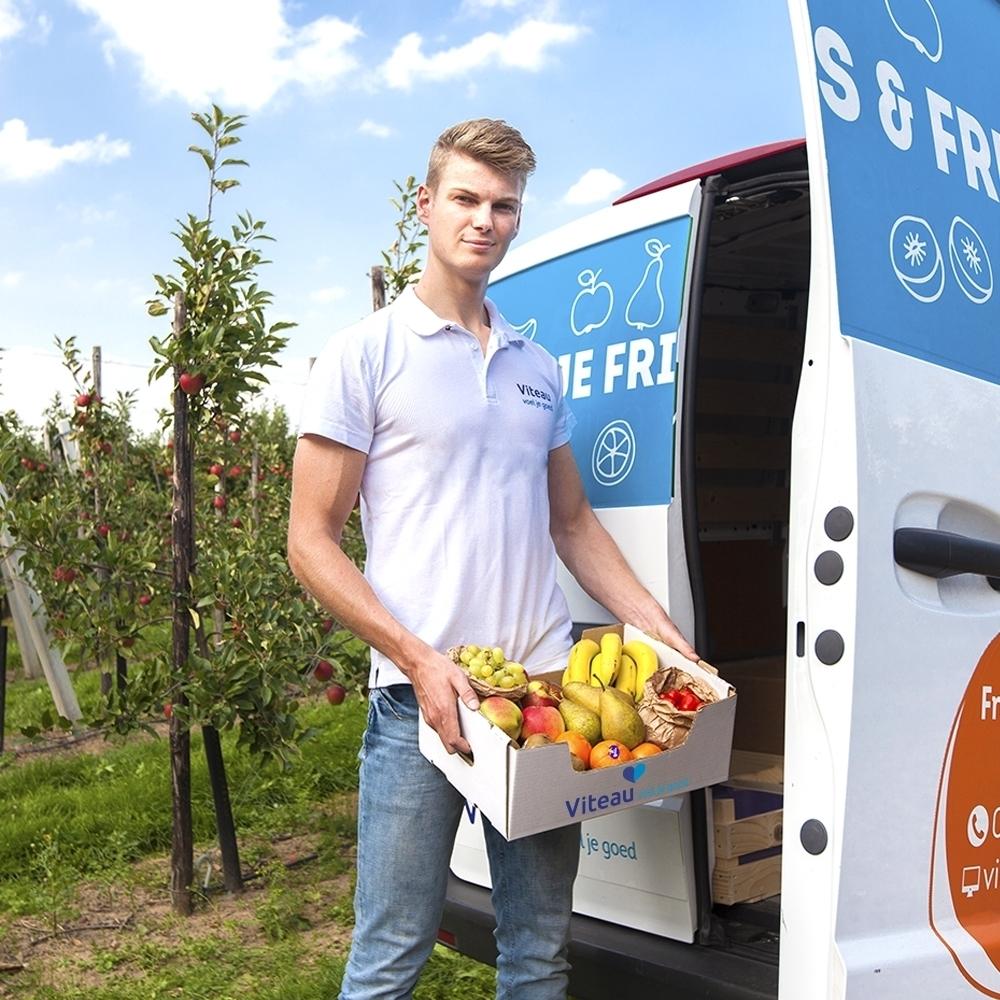 Fruitlevering op het werk door heel Nederland