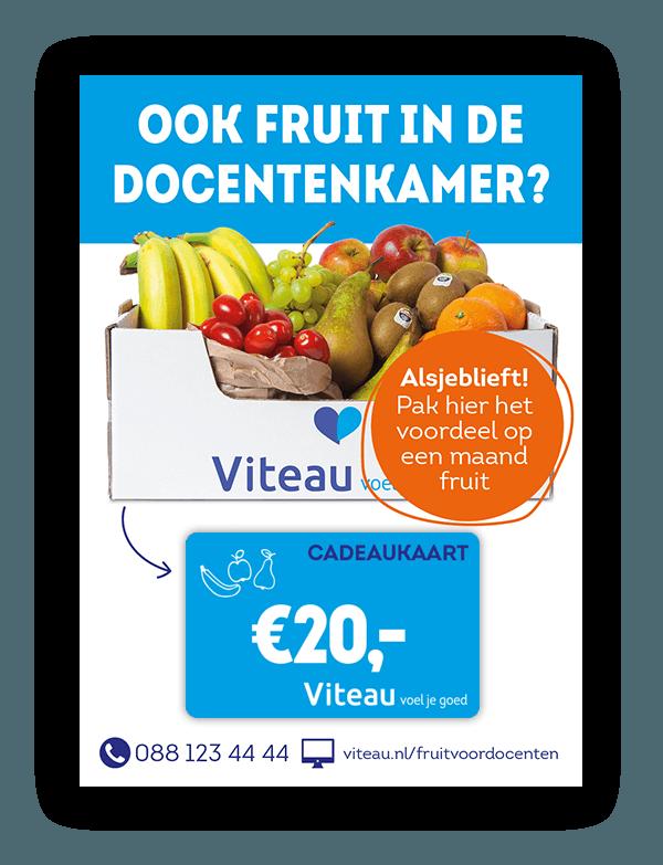 Viteau Fruit voor docenten