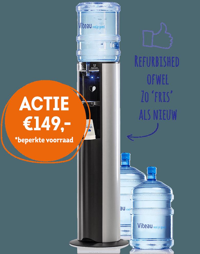 Viteau actie goedkope refurbished waterkoeler