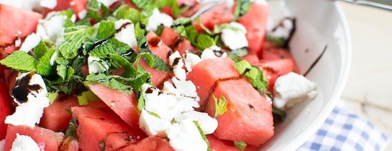 watermeloen salade - Viteau voel je goed
