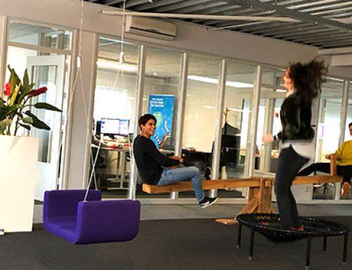 Spelen op het werk vermindert werkstress