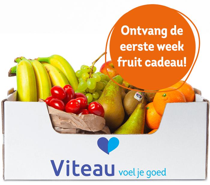 Viteau fruitpakket - fruit op het werk