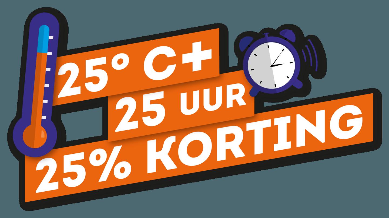 Logo 25 graden - ideale waterkoeler