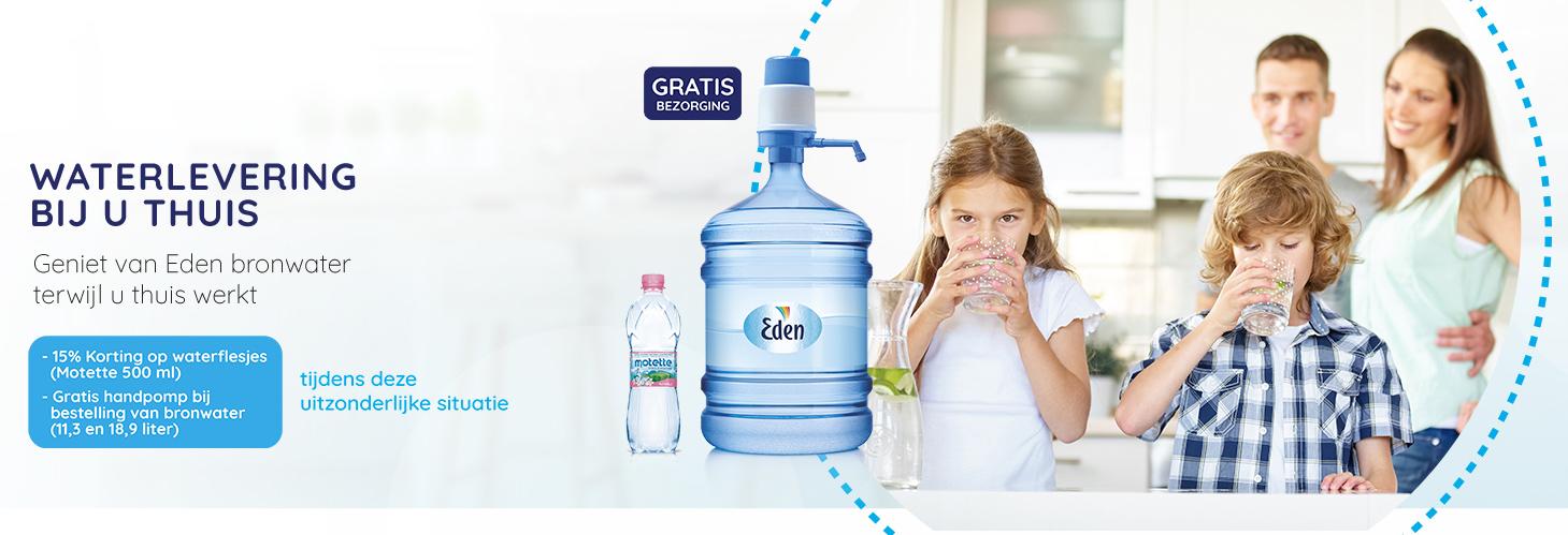 Waterkoeler en water voor thuis